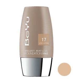 کرم پودر مخملی مات بی یو مدل 17 BeYu Velvet Mat Foundation 17