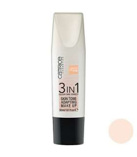 کرم پودر 3 در 1 کاتریس مدل اسکین تن 010 Catrice 3 IN 1 Skin Tone Makeup Foundation 010