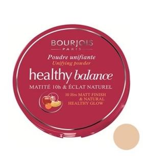 پنکیک روشن بورژوآ مدل هلتی بالانس پودر 52 Bourjois Healthy Balance Powder Vanille 52