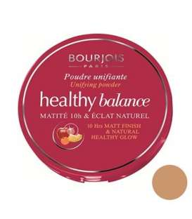 پنکیک برنزه تیره بورژوآ مدل هلتی بالانس پودر 56 Bourjois Healthy Balance Powder Hale Clair 56
