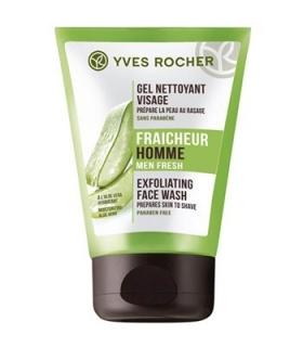 ژل پاک کننده صورت آقایان ایو روشه مدل آلوئه ورا Yves Rocher Exfoliating Face Wash Aloe vera