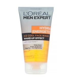 ژل پاک کننده صورت آقایان لورآل سری Men Expert مدل هیدرا انرژتیک LOreal Men Expert Hydra Energetic Face Wash