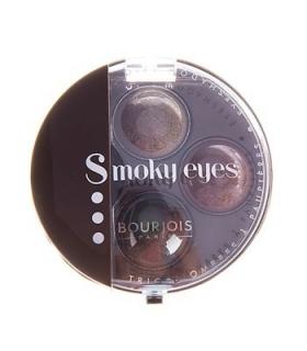 سایه چشم بورژوآ مدل اسموکی آیز تریو 13 Bourjois Smokey Eyes Trio Eyeshadow 13