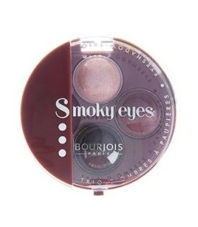 سایه چشم بورژوآ مدل اسموکی آیز تریو 18 Bourjois Smokey Eyes Trio Eyeshadow 18