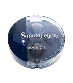 سایه چشم بورژوآ مدل اسموکی آیز تریو 11 Bourjois Smokey Eyes Trio Eyeshadow 11
