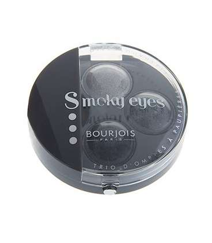 سایه چشم بورژوآ مدل اسموکی آیز تریو 01 Bourjois Smokey Eyes Trio Eyeshadow 01