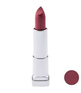 رژ لب جامد میبلین مدلرال کالر سنسشنال پینک هوریکن 165 Maybelline Ral Color Sensational Pink Hurrican 165 NU Lipstick