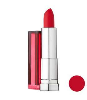 رژ لب جامد میبلین مدل رال کالر سنسشنال لیدی 527 Maybelline Ral Color Sensational Lady Red 527 NU Lipstick