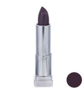 رژ لب جامد میبلین مدل رال کالر سنسشنال میدنایت پلام 338 Maybelline Ral Color Sensational Midnight Plum 338 NU Lipstick