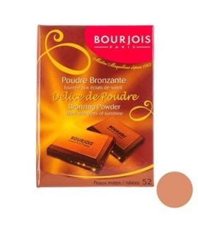 پودر برنزه بورژوآ مدل دلیس د پودر شماره 52 Bourjois Delice De Poudre Bronzing Powder 52
