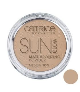 پودر برنزه کاتریس مدل سان گلو مات برنزینگ 030 Catrice Sun Glow Matt Bronzing Powder 030