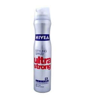اسپری نگهدارنده حالت مو نیوآ مدل اولترا استرانگ Nivea Hair Styling Ultra Strong Spray