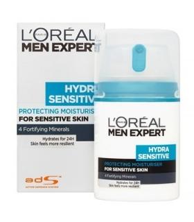 کرم مرطوب کننده لورآل سری Men Expert مدل هیدارا سنستیو LOreal Men Expert Hydra Sensitive Cream