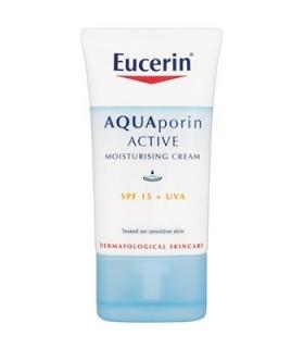 کرم مرطوب کننده روز اوسرین مدل آکواپورین اکتیو Eucerin Aquaporin Active SPF15 Moisturizing Cream