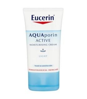 کرم مرطوب کننده روز اوسرین مدل آکوآ پورین لایت Eucerin Aquaporin Active Light Moisturizing Day Cream
