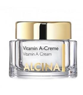 کرم ضد چروک آلسینا مدل ویتامین آ Alcina Vitamin A Anti-Ageing Cream