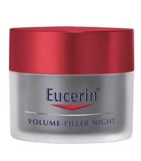 کرم ضد چروک و حجم دهنده شب اوسرین مدل وولوم فیلر Eucerin Volume Filler Night Anti Wrinkle Cream
