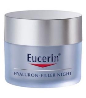 کرم ضد چروک شب اوسرین مدل هیالورون فیلر Eucerin Hyaluron Filler Night Anti Wrinkle