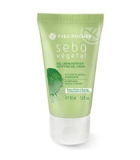 ژل کرم مات کننده ایو روشه مدل سبو وجتبل Yves Rocher Sebo Vegetal Mattifying Gel Cream