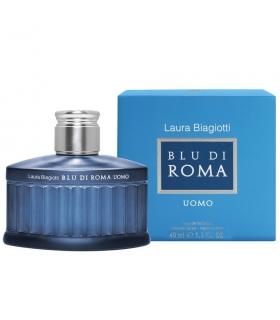 عطر مردانه لورا بیاجیوتی بلودی رما اومو Laura Biagiotti Blu di Roma Uomo