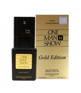 عطر مردانه ژاک بوگارت وان من شو گلد ادیشن Jacques Bogart One Man Show Gold Edition