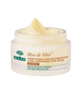 کرم روز رودمییل نوکس NUXE REVE DE MIEL ULTRA COMFORTABLE DAY CREAM