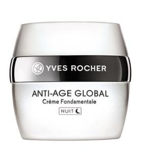 کرم ضد چروک شب ایو روشه مدل آنتی ایج گلوبال Yves Rocher Anti-Age Global Night Anti Wrinkle Cream