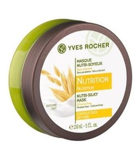 ماسک موی تغذیه و ترمیم کننده مو ایو روشه مدل نوتریشن نوتری سیلکی ماسک Yves Rocher Nutrition Nutri Silky Mask