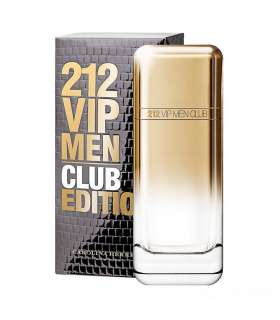 عطرو ادکلن مردانه کارولینا هررا وی آی پی 212 کلاب ادیشن ادوتویلت Carolina Herrera VIP 212 CLUB EDITION EDT for men