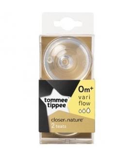 سرشیشه تامی تیپی مدل TT42214010 دوعددی Tommee Tippee TT42214010 Bottle Teats