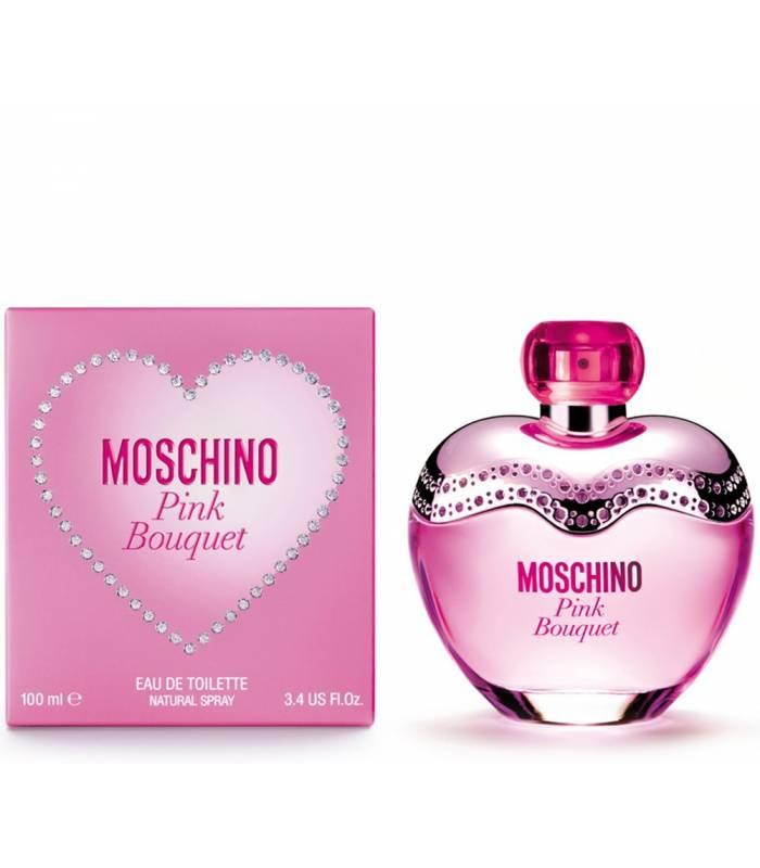 عطر زنانه موسچینو پینک بوگت Moschino Pink Bouquet