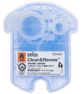 کارتریج محلول پاک کننده و شستشو براون Braun Clean and Renew Cartridge