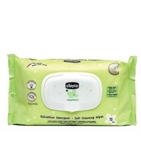 دستمال مرطوب چیکو تمیز کننده کودک بسته 72 عددی Chicco Cleansing Wipes For Baby
