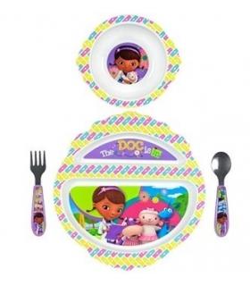 ست 4 تکه غذاخوری فرست یرز The First Years Girl 4 Pieces Y10254 Feeding Set