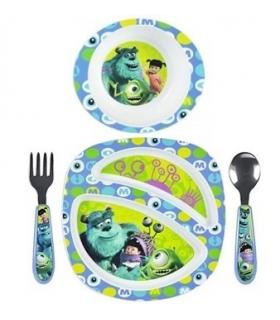 ست 4 تکه غذاخوری فرست یرز مدل مانستر The First Years Monsters 4 Pieces Y9930 Feeding Set