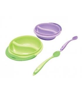 ست بشقاب و قاشق فرست یرز The First Years Y4637 Spoon and Dish
