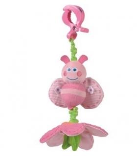 آویز پلی گرو مدل زنبور صورتی Playgro Pink Bee Doll Pendant