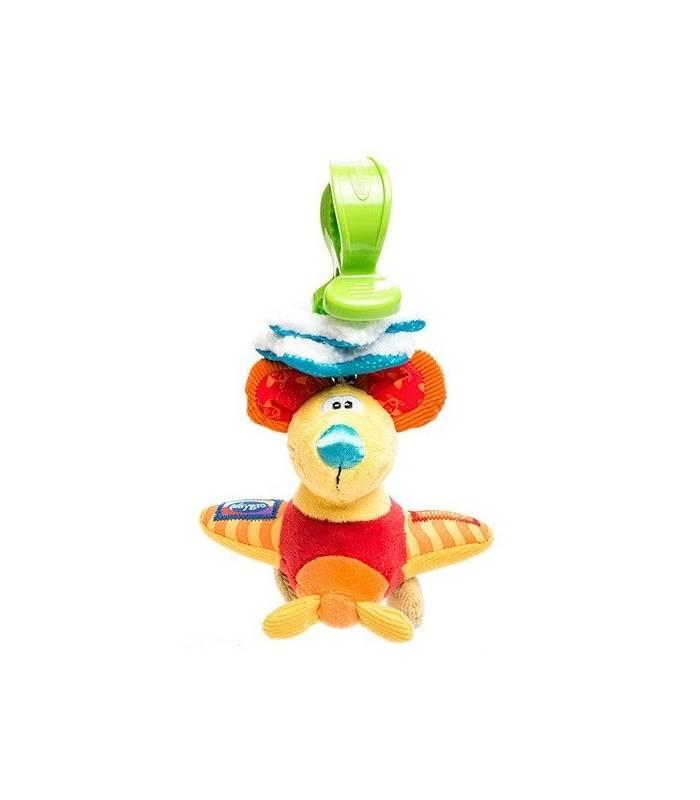 آویز پلی گرو مدل موش Playgro Blue Mouse Doll Pendant