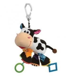 آویز پلی گرو گاو Playgro Cow Doll Pendant