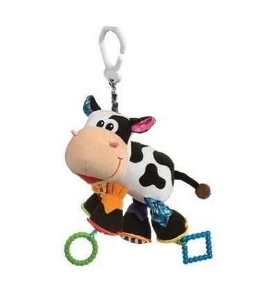 آویز پلی گرو مدل گاو Playgro Cow Doll Pendant