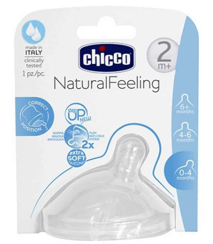 سرشیشه چیکو دو عددی 81023 Chicco 81023 the bottle