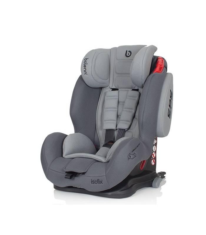 صندلی خودرو بولن هاگ مدل تاندر ایزوفیکس طوسی Bolenn Hug Thunder Isofix Car Seat