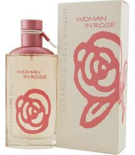 عطر زنانه آلساندرو دل آکوا وومن این رز Alessandro Dell Acqua Woman In Rose