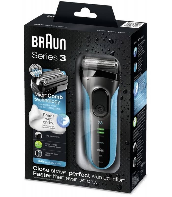 ریش تراش 3045 براون سری 3 Braun shaver Series 3 3045s