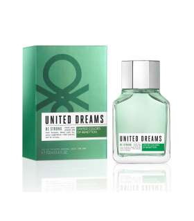 عطر مردانه بنتون یونایتد دریمز بی استرونگ ادوتویلت Benetton United Dreams Men Be Strong for men edt