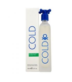 عطر مشترک زنانه مردانه بنتون کلد ادوتویلت Benetton Cold for women and men edt