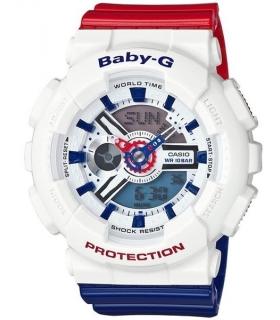 ساعت مچی عقربه ای دخترانه و پسرانه کاسیو Casio Baby G BA 110TR 7ADR