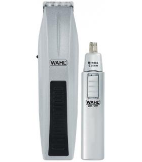 ماشین اصلاح صورت وال با موزن گوش و بینی مدل Wahl Mustache and Beard Trimmer with Bonus Trimmer 5537-420