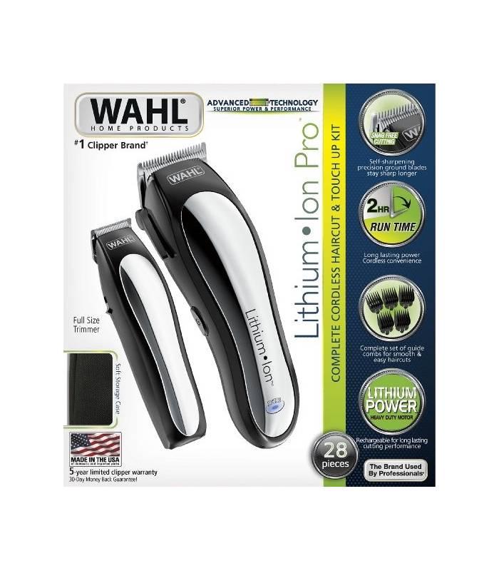 ماشین اصلاح سر و صورت وال مدل Wahl Lithium Ion Clipper 79600-2101
