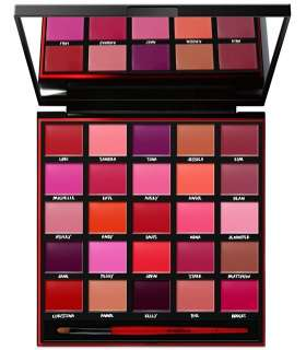 پالت رنگ اسمش باکس با 25 رنگ سایه Smashbox Be Legendary Lipstick Palette Includes 25 of the best Smashbox shades